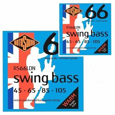 Stainless Steel 4er 50-110 Swing Bass 66 Bass Saiten RS66LE Rotosound