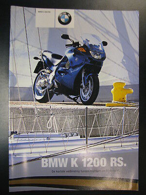 Brochure BMW K 1200 RS (Nederlands) 2 - 2001