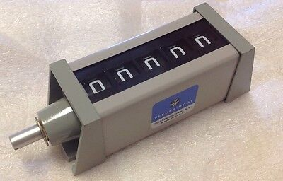 Danaher/Veeder-Root 5 Digit Counter Model 0743135-001 Medium Size Non-Resettable