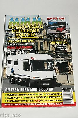 MMM October 2004, Motorhome Monthly, Eura Mobil/VW LT35 Auto-Sleeper/Pug Boxer