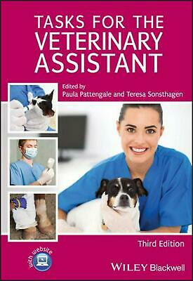 Tasks for the Veterinary Assistant by Pattengale (English) Spiral Book Free Ship