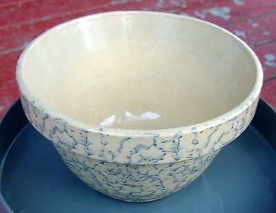 Collectible Sponge Ware Pottery Bowl/container...roseville Rr
