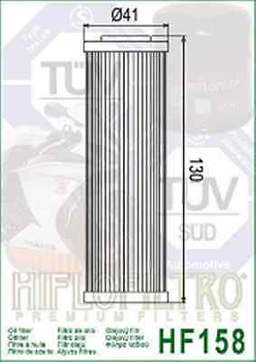 Filtro Olio Hf 158 Ktm 950 990 Adventure Super Enduro Sm R T Superduke 1190 Rc 8