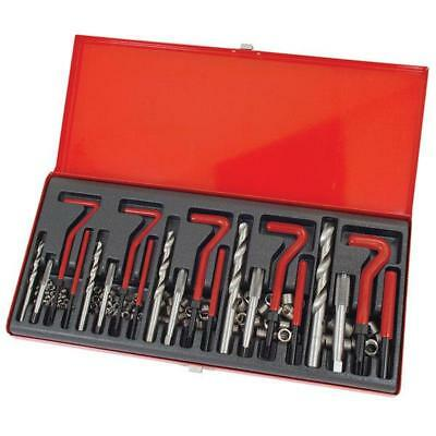 131 Piece Thread Repair Kit M5 M6 M8 M10 M12 With Metal Storage Case