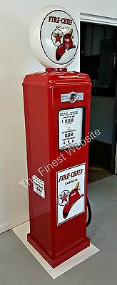 New Texaco Fire Chief Reproduction Gas Pump -  Oil Antique  Replica - Free Ship*