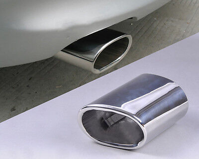 Stainless Steel Chrome Exhaust Tail Rear Muffler Tip Pipe Bmw E90 E91 E92 E93