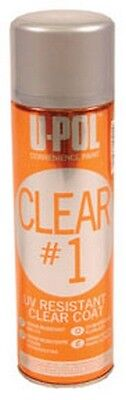 Clear #1 - UV Resistant Clear Coat UPL-UP0796 Brand New!