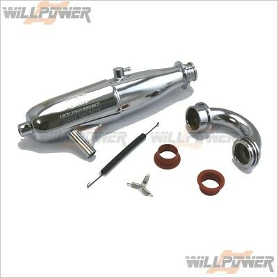 SH EFRA-2075 Exhaust Tuned Pipe / 3 Chamber #SA219FS (RC-WillPower)