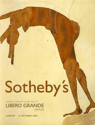 Sotheby's The Collection of Libero Grande Naples Auction Catalog 2004'