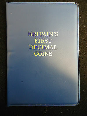 Britian's First Decimal Coin Album