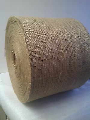 "6"" Wide Burlap Roll, 10oz - 150 Foot Roll"