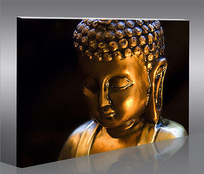 buddha v4 1p bild bilder asien auf leinwand wandbild poster eur 39 90 picclick de. Black Bedroom Furniture Sets. Home Design Ideas