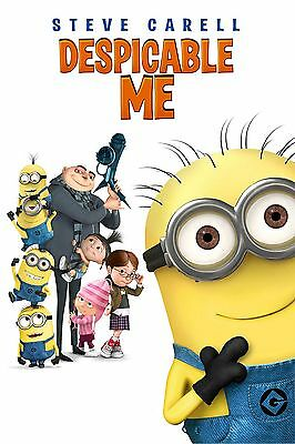 DESPICABLE ME.. Modern Classic Childrens Animated Movie Poster A1A2A3A4Sizes