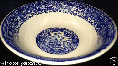 """Buffalo China Blue Willow Coup Cereal Bowl 6.5"""""""