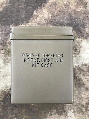 Insert, First Aid Kit Case OD Green Military Surplus New