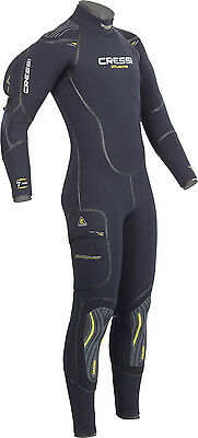 Cressi Atlantis Semi-dry Wetsuit Man 7 mm 02UK