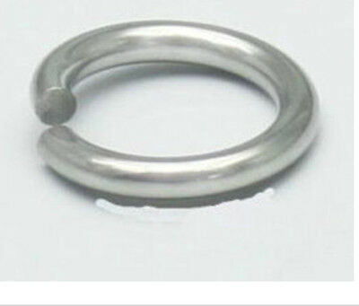 1000pcs Strong 316L Stainless steel Jump Ring 7x1mm