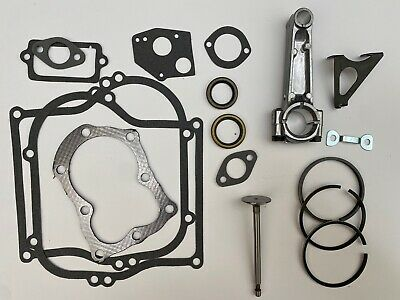 for 5HP 5 horse power, for Briggs and Stratton rebuild 010 Bore,Rod,Valves