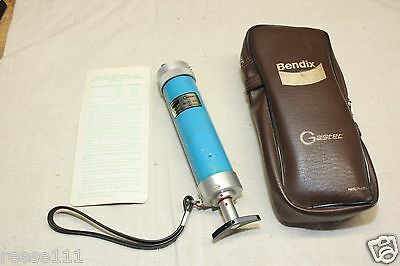 Bendex Gastec Hand Pump 400 P/N 2417535 Complete In Case With Instructions
