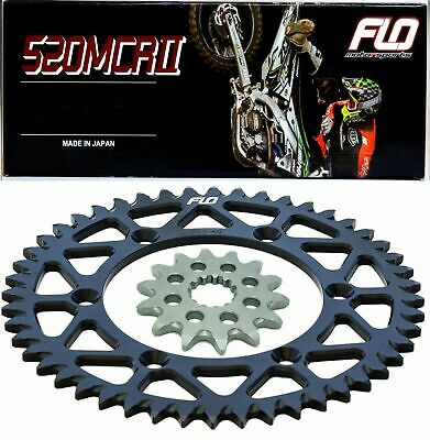 RENTHAL R1 Gold Motocross Chain BLUE Sprocket Combo Kit 50/13T YZ250F 01 - 2017