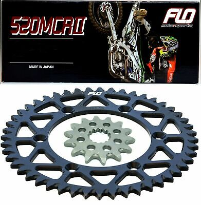 Renthal R1 Gold Motocross Chain  RED Sprocket Combo Kit 51/13T CRF250 CRF250R