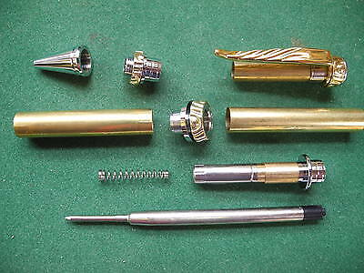 Woodturning ULTRA Ball Point Pen Kit in Gold