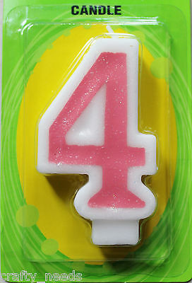 1 PC - Number Birthday Candle - NUMERIC CAKE CANDLES