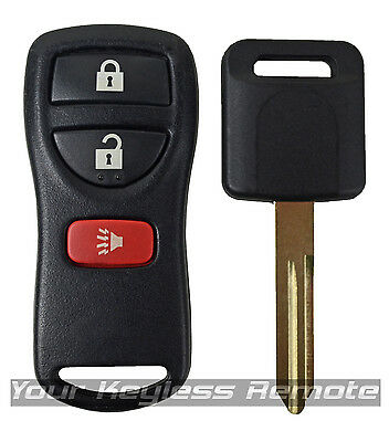 1 Oem Factory Remote Keyless Entry Fob Transmitter+Ignition Chip Key For Nissan