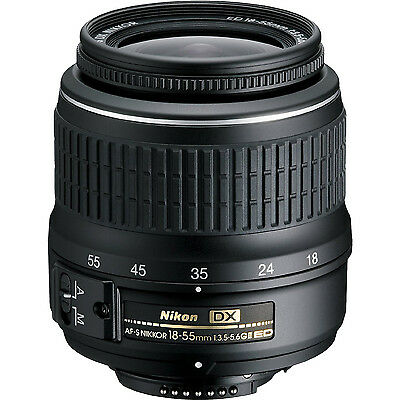 Nikon 18-55mm II AF-S DX Digital Lens for D3200 D3300 D5200 D5300 D7100 Camera