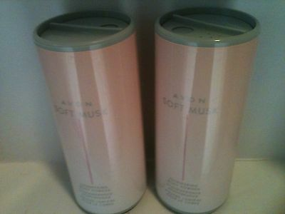 Avon SOFT MUSK  Shimmering Body Powder  2  X  40g  = 80g FREE POST ~ SALE