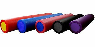 NEW FOAM MASSAGE ROLLER 90cm FITNESS REHAB INJURY PILATES YOGA EXERCISE