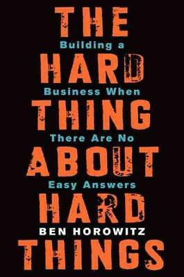 The Hard Thing About Hard Things (9780062273208) - Ben Horowitz (Hardcover) New