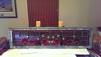 Stained Glass Window Pair Custom Made