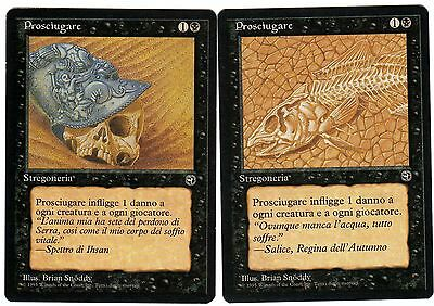 Prosciugare - Dry Spell 2x carte Magic Origini (ITALIAN HOMELANDS) EX-NM