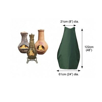 Bosmere C755 - Cover up Large Chimenea Cover In green