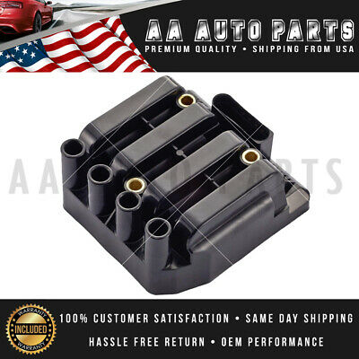 UF484 New Ignition Coil For VW Jetta Beetle Golf Clasico L4 2.0L 06A905097