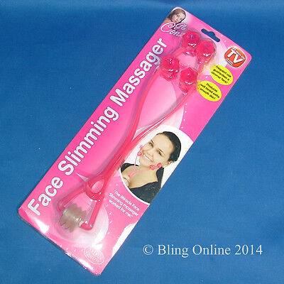 New Face Facial Slimming Toning Massage Massaging Rollers Tone Muscles Massager