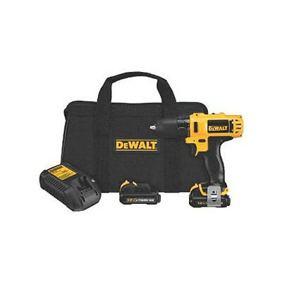 DEWALT DCD710S2R Reconditioned DCD710S2 12V Max 3/8-Inch Drill Driver Kit