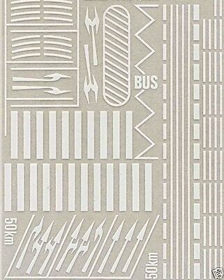 busch 7197 road markings spur  n 1:160