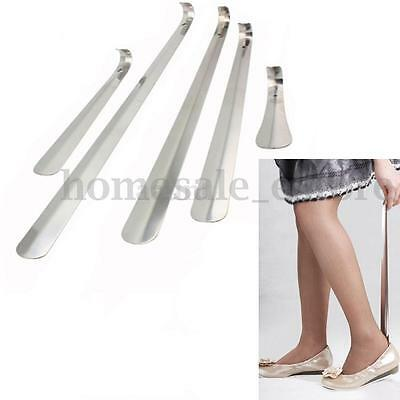 Durable Stainless Steel Shoe Horn Shoehorn Lifter Long Handle 16-58cm 5 Sizes