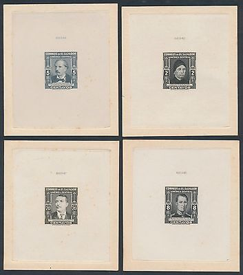 El Salvador #597E // #604E (6) Diff Die Essays On India Br2320 Hsfp