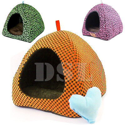 Soft Pet Igloo Dog Cat Bed House Kennel Doggy Fashion Cushion Basket MG + Gift