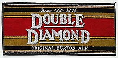Double Diamond Cotton Bar Towel   (pp)