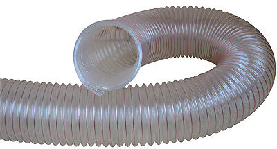 Charnwood Clear Flexible Wood, Dust & Chip Extractor Hose