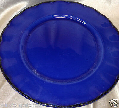 "Grindley England Modern Fashion Colours Colors Blue 8"" Salad Plate"