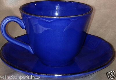 Grindley Modern Fashion Colours Blue Cup & Saucer 8 Oz