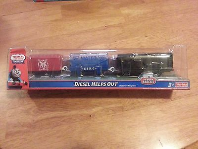 Thomas & Friends Trackmaster Motorized Railway Diesel Helps Out