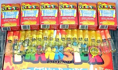 Stink Bombs Joke Shop Fart Smell Funny Prank Rotten Eggs Vile  Choose Amount Box