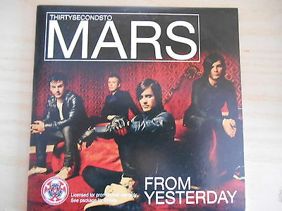 CD12 58 Thirty Seconds to Mars: From yesterday [JARED LETO Raro Promo 1 tracks]