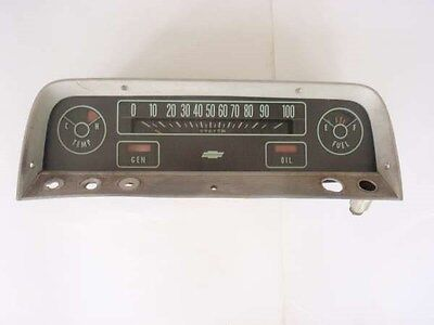 1964,1965,1966,Chevy Deluxe Model PU Truck. Cluster/Gauge Assembly,Part# 6458147